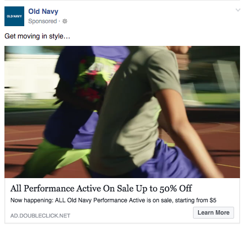 old-navy-best-facebook-ad-example